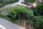 Resort town Calella — Stock Photo