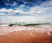 Sluneční pláž — Stock fotografie