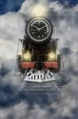 Locomotive time — Stock Photo