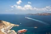 Port of Santorini — Stock Photo