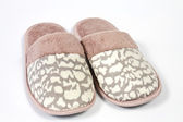 Ladies slippers — Stock Photo