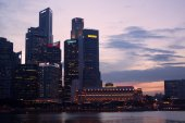 Skyline Singapour — Photo