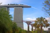 Hotel Marina Bay Sands, Singapore — Stock fotografie
