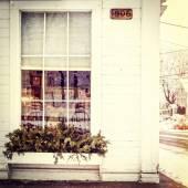 Old building, instagram style — Stockfoto
