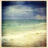 Вид на океан, instagram стиль — Стоковое фото