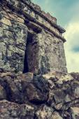 Ancient Mayan Tulum Ruins in Mexico — Stock Photo