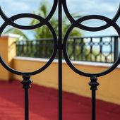 Architectural iron detail — Stock Photo