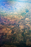 Bird's Eye View of Mid-West United States — Stock Photo