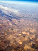 Center Pivot Irrigation Farming — Stock Photo