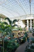 Atrio un resort hotel — Foto Stock