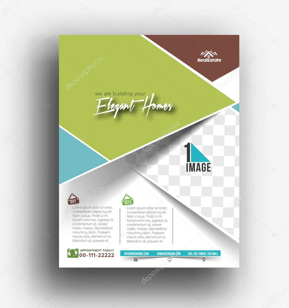 real estate agent flyer poster template stock vector real estate agent flyer poster template stock vector 118141576