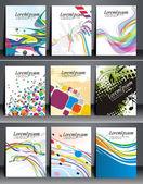 Presentation of Flyer Design Content — Vetorial Stock