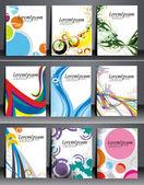 Flyer & poster design — Stock Vector