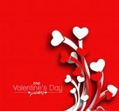 Valentine's Day Heart Design — Stock Vector