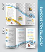 Laundry Service Flyer — Stock Vector