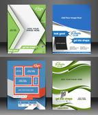 Fitness Center Flyer  — Stock Vector