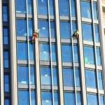 Window cleaners — Stock Photo #56708929