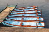 Rowing  boats — Stock Photo