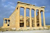 Erechtheion temple Acropolis in Athens — Stock Photo