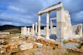 Demeter temple, Naxos — Stock Photo