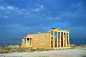Erechtheion temple Acropolis in Athens — Stock Photo