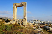 Portara of Naxos — Stock Photo