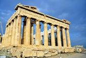 Partenone sull'acropoli di atene — Foto Stock
