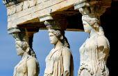 Caryatides at Acropolis, Athens — Stock Photo