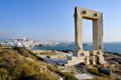 Portara di naxos — Foto Stock