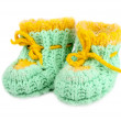 Baby booties — Stock Photo #59678353