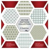 Seamless pattern in vintage style — Stock Vector