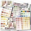 Color swatches collage — Stock Photo #65896811