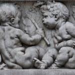 Stone Child sculptor — Stock Photo #65897285