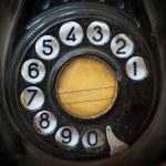 Постер, плакат: Vintage telephone rotary dial