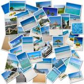 Tropical trip collection — Stock Photo