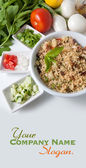 Mouthwatering tabouleh salad — Stock Photo
