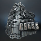 Presse, tapuscrit — Photo