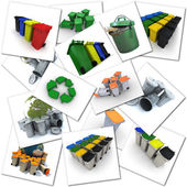 Garbage disposal themes — Stock Photo