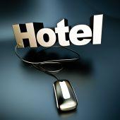 Silver Online Hotel — Stockfoto