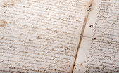 Old French documents — Stock Photo