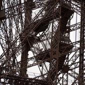 Eiffel tower partial c — Stock Photo