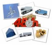 Urgent freight transportation  — Stock Photo