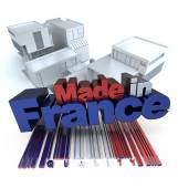 Construction made in France — Stock Photo