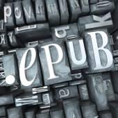 Epub — Stock fotografie