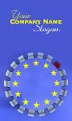 Europese vergadering kwesties — Stockfoto