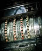 Vintage kassa — Stockfoto
