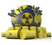 Pericolo atomico — Foto Stock