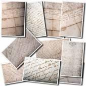 Old manuscript collage — Stock Photo