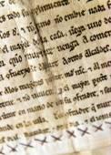 старая рукопись — Стоковое фото