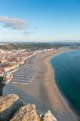 Portuguese beach from the cliffs — Stock Photo
